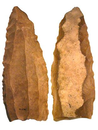 Neolithic Blade Core used to produce long blades for Daggers and Knives