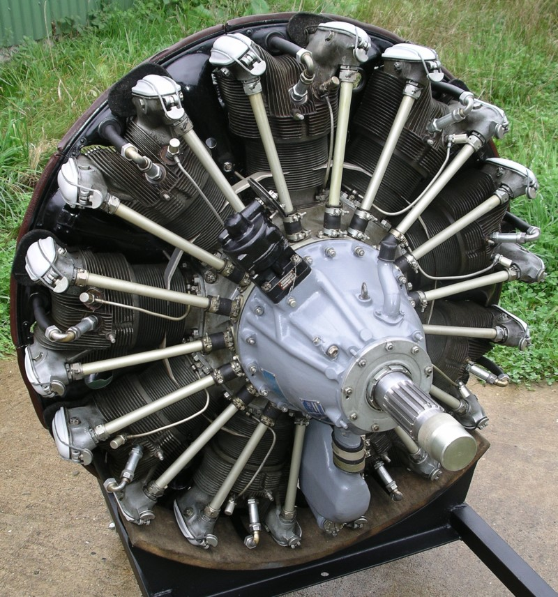 He-Artefakte, Images Aircraft Radial Engines